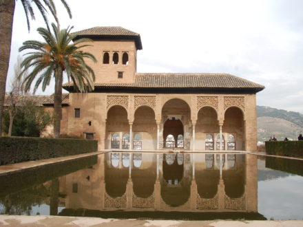 Andalusien single rundrejse. Alhambra Spanien.