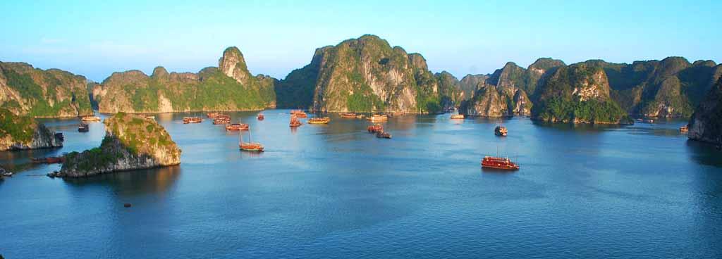 Fantastiske Halong Bay