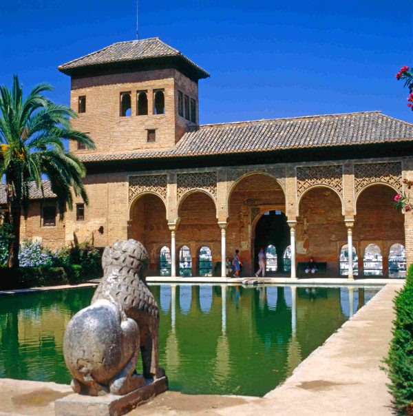 The Partal Palace, Alhambra, Spain