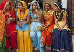 Indien damer