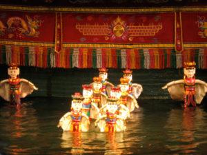 Vanddukketeater - et must do i Hanoi