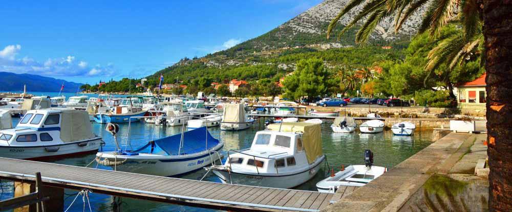 kroatien havn